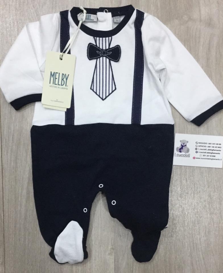 7fea3fcca3 Melby Tutina con effetto finta salopette, cravatta e papillon - Shop ...