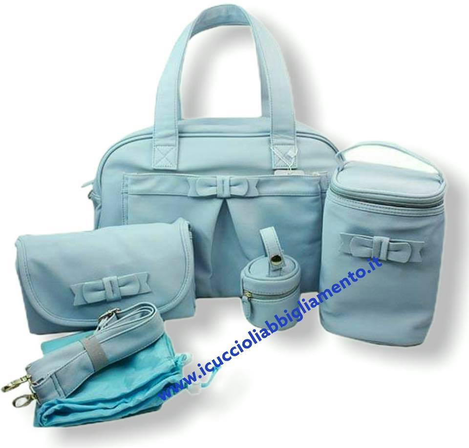 Set borsone mamma in eco pelle